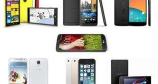 семь лучших смартфонов